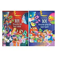 Combo 2 Cuốn 101 Truyện Kể Hay Nhất + Giúp Bé Ngủ Ngon - Tủ Sách Vàng Dành Cho Con