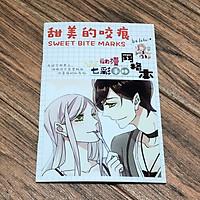 Sổ tay mini vở vết cắn ngọt ngào anime chibi in hình đẹp