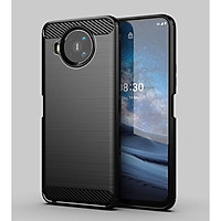Ốp lưng chống sốc Vân Sợi Carbon cho Nokia 8.3 5G
