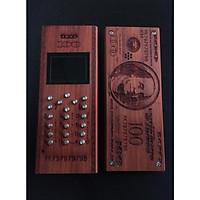 Vỏ gỗ cho điện thoại Nokia 1280 mẫu Đô la
