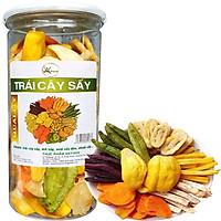 Trái cây sấy khô thập cẩm loại nguyên xuất khẩu - Hũ 280G