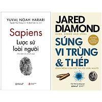 Combo Sách Lịch Sử Thế Giới : Sapiens: Lược Sử Loài Người + Súng, Vi Trùng Và Thép