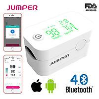 [Thương Hiệu Mỹ - Kết Nối Bluetooth] Máy Đo Nồng Độ Oxy Trong Máu Jumper JPD 500G (Led)