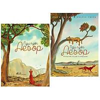 Combo sách ngụ ngôn hay : Ngụ ngôn Aesop + Ngụ ngôn Aesop những câu chuyện bị lãng quên - Tặng kèm bookmark thiết kế