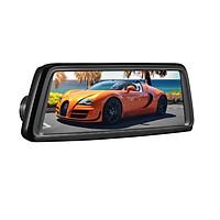 Camera hành trình gương V9 Plus tích hợp 4 camera, phát wifi trên xe nhờ tích hợp 4G LTE, phần mềm dẫn đường Navitel, Google map, hệ điều hành Android 5.1, Ram 2GB