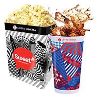 Lotte Cinema Solo Combo - 1 Bắp Rang Lớn Và 1 Nước Ngọt Lớn
