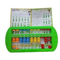 Bàn tính gẩy Soroban giúp bé học toán thông minh kèm hướng dẫn sử dụng - GIao màu ngẫu nhiên