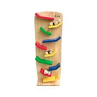 Đồ chơi gỗ Vách Xe Rượt Đuổi - Xe mini chạy trên vách trượt vui nhộn - Đồ chơi an toàn cho bé