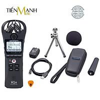 Bộ Máy Thu Ghi Âm Mic Zoom H1N Full Phụ kiện - Thiết bị thu âm cầm tay kỹ thuật số Microphone Stereo - Kèm Móng Gẩy DreamMaker