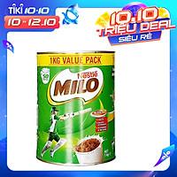 Sữa Bột Nestle Milo Value Pack 1kg Hàng Nội Địa Úc, Bổ Sung Vitamin và Khoáng Chất Giúp Bé Phát Triển Chiều Cao và Cân Năng, Thông Minh và Sáng Tạo Năng Động Vượt Trội