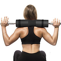 Barbell Bar Cover Squat Pad Weight Lifting Shoulder Back Protector Black