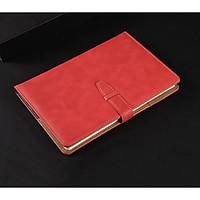 Sổ tay kẻ ngang bìa da móc khóa cài cao cấp 192 trang