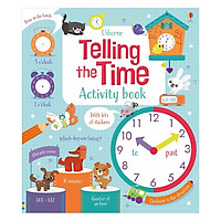 Usborne Telling the Time Activity Book