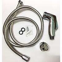 Vòi xịt vệ sinh, tay xịt nhựa ABS, dây Inox 304 cao cấp E7-VXVS chất lượng 5 sao.
