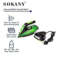 Bàn là hơi nước không dây SOKANY 2400W, AJ-2085 - Hàng chính hãng