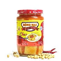 Chao Bông Mai - Vị chay thuần Việt (hũ thuỷ tinh cao cấp - 400g)