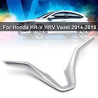 For Honda HR-V HRV Vezel 2014-2018 Steering Wheel Panel Insert Trim Cover Chrome