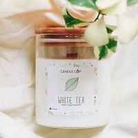 Nến Thơm Thiên Nhiên - White Tea