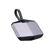 Bộ chuyển đổi Hub Type-C sang HD Converter sang Ethernet RJ45 Dual USB 3.1 3.5MM cho MacBook Pro DELL