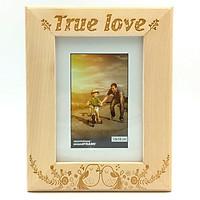 Khung Hình 13x18 Khắc Laser - Mẫu 6 - True Love