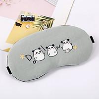 Bịt mắt ngủ 3 con gấu vui nhộn có túi nước giải nhiệt tặng kèm bịt tai chống ồn