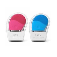 Combo 2 Máy Rửa Mặt Và Mát Xa Da Mặt Halio Hot Pink + Sky Blue (hồng đậm + xanh)