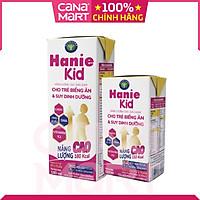 Thùng sữa bột pha sẵn Nutricare Hanie Kid dinh dưỡng cho trẻ biếng ăn và suy dinh dưỡng, cho trẻ từ 1 tuổi (110ml x 48 hộp)