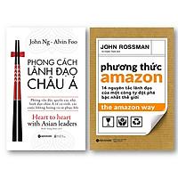 Combo Sách Lãnh Đạo Hay: Phong Cách Lãnh Đạo Châu Á + Phương Thức Amazon - 14 Nguyên Tắc Lãnh Đạo Của Một Công Ty Đột Phá Bậc Nhất Thế Giới