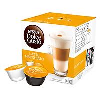 Hộp 16 Viên Nén Cà Phê Sữa Nescafe Dolce Gusto Latte Macchiato (195g)