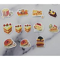 Set 28 Sticker Trang Trí - Chủ Đề Bánh Ngọt