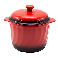 Nồi sứ Royalcooks Red Candy 4L