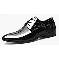 Giày da nam thiết kế đế hoa văn sang trọng mã 2036