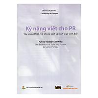 Kỹ Năng Viết Cho PR