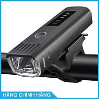 Đèn pha xe đạp siêu sáng cảm biến thông minh, chống nước, tự động điều chỉnh độ sáng theo môi trường, sạc usb, nhỏ gọn, dễ dàng lắp đặt, pin từ 4-8 tiếng, thương hiệu Wheel Up - Hàng chính hãng