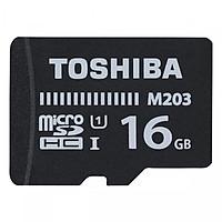 Thẻ Nhớ Micro SDHC Toshiba M203 100MB/s 16gb- Hàng chính hãng