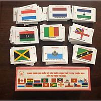 Bộ cờ các nước, 361 quốc gia, vùng lãnh thổ, khu tự trị đầy đủ trên thế giới