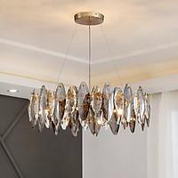 Đèn chùm pha lê cao cấp thiết kế sang trọng trang trí phòng khách, bàn ăn, nhà hàng, quán cafe TH-8166