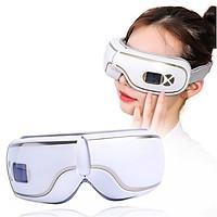 Máy massage mắt xoa bóp áp suất khí có nhiệt sưởi YIJIA YJ-518 - Kết nối bluetooth nghe nhạc. Hỗ trợ trị đau mỏi mắt, thâm quầng mắt