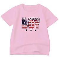 Áo thun Bé trai, gái loại 1 | chất cotton | Thoáng Mát | 6-45kg | Boy American | BTM97