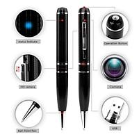 Bút bi V8 cao cấp - Bút bi viết FullHD ghi âm chụp ảnh video sắc nét