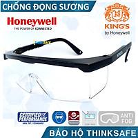 Kính chống bụi King's KY151, kính bảo hộ phòng dịch, chống tia UV, chống bụi, chống xước (màu trắng)