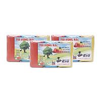 Combo 3kg Túi Đựng Rác Không Lõi EIG 5 EIG 4456 Size Nhỏ (44 x 56 cm) - Nhiều Màu