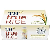 Thùng 24 chai Nước Gạo Rang TH True Rice 300ml x 24