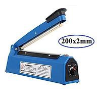 Máy Hàn Miệng Túi Dập Tay PFS - Máy hàn miệng túi nilong dập tay 20cm (Vỏ nhựa xanh)