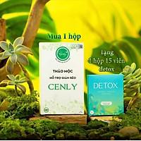 Thực phẩm bảo vệ sức khỏe THẢO MỘC hỗ trợ GIẢM CÂN CENLY _ Hỗ trợ giảm béo tự nhiên 100% nguyên liệu tự nhiên (hộp 30 viên)