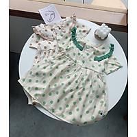 Váy Bé Gái Chấm Bi Dáng Baby Doll Siêu Xinh 9-23kg Babi mama V36-2021