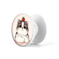 Gía đỡ điện thoại đa năng, tiện lợi - Popsockets - In hình CAT 05 - Hàng Chính Hãng