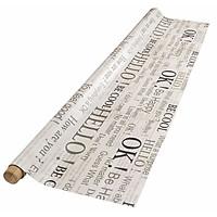 Tấm Trải Bàn JYSK Odon Nhựa PVC In Chữ 140 cm