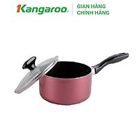 Nồi Quánh Nhôm Có Nắp Đáy Từ Kangaroo KG587 - 18cm
