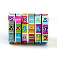 Đồ chơi Rubik Toán Học - Luyện Trí Nhớ Cho Bé